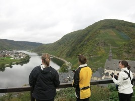 Overlooking the Mosel with Vino Hound